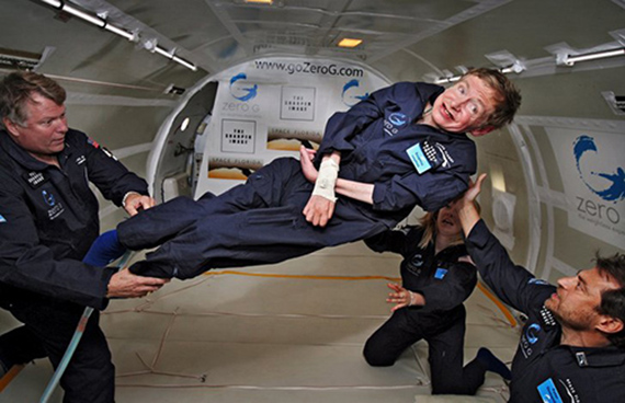 Hawking Flight