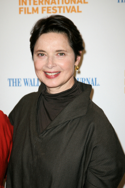 10/09/2010 - Isabella Rossellini - 18th Annual Hamptons International Film Festival-Conversation with Isabella Rossellini at Bay Street Theater - Bay Street Theater - Sag Harbor, NY, USA - Keywords: straight short brown hair, earrings, brown shirt, brown sweater - False - Photo Credit: Jakes Van Der Watt / PR Photos - Contact (1-866-551-7827)