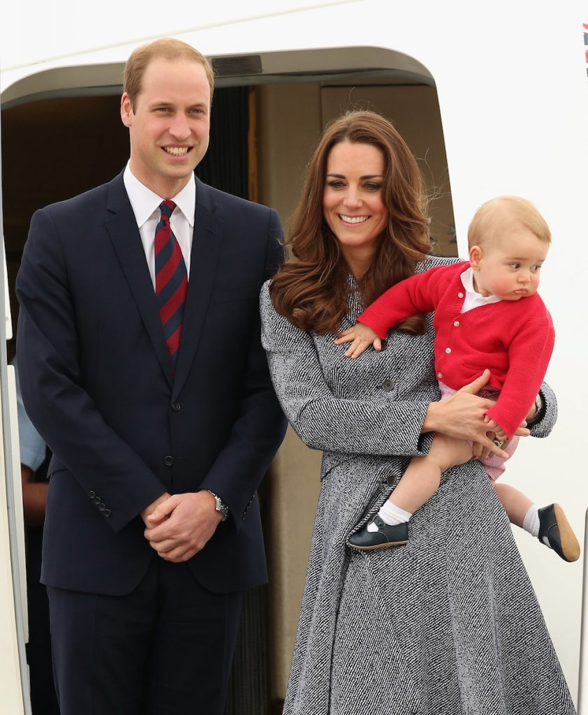 on April 25, 2014 in Canberra, Australia. The Duke and Duchess of Cambridge are on a three-week tour of Australia and New Zealand, the first official trip overseas with their son, Prince George of Cambridge.