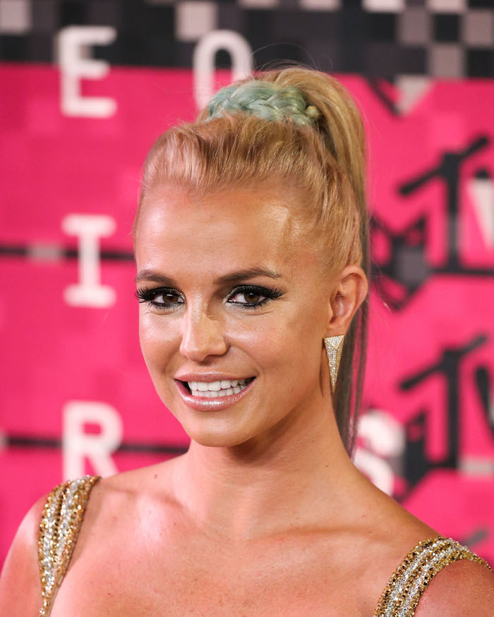 LOS ANGELES, CA, USA - AUGUST 30: 2015 MTV Video Music Awards - Arrivals held at the Microsoft Theatre L.A. Live  Pictured: Britney Spears Ref: SPL1114096  300815   Picture by: Xavier/Image Press/Splash News Splash News and Pictures Los Angeles:310-821-2666 New York:212-619-2666 London:870-934-2666 photodesk@splashnews.com