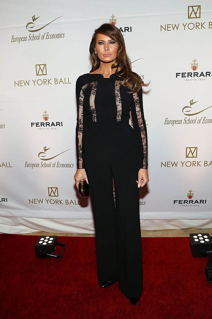 NEW YORK, NY - NOVEMBER 19: Melania Trump attends The New York Ball: The 20th Anniversary Benefit For The European School Of Economics at Trump Tower on November 19, 2014 in New York City. (Photo by Monica Schipper/FilmMagic)